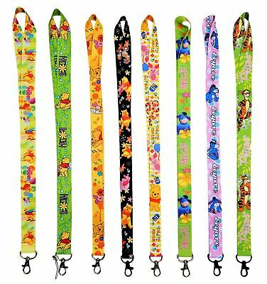 Pooh & Friends Themed Lanyards with Clip - ID / Badge Holder ~ Brand NEW Lanyard