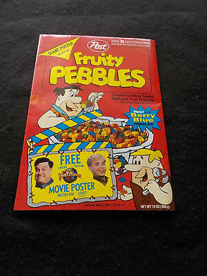 The Flintstones Movie Poster Giant size  3 feet Post Fruity Pebbles POST