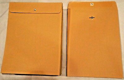 *10* 10X13 Manila Kraft Clasp Catalog Shipping Mailers Office Mailing Envelopes