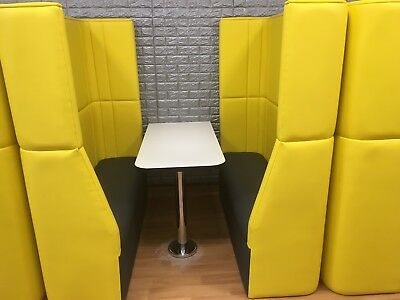 Complete Booth Seating  with table top and base - Restaurant Bar, Cafe Or Home.