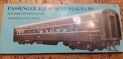New York Central System Passenger Equipment Diagrams Alvin Staufer Book