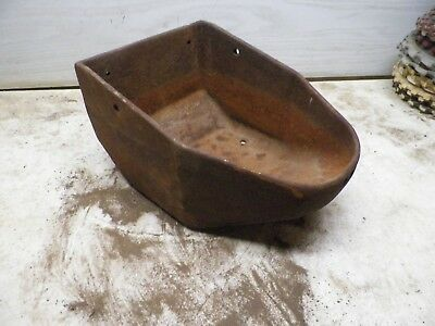 Old Cast Iron Windmill Water Trough for Flower Poy Garden Planter Lot D