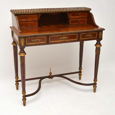 Antique French Ormolu Mounted Bonheur Du Jour Desk