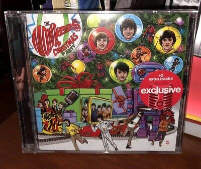 The Monkees 2018 Christmas Party CD TARGET DELUXE Exclusive + 2 BONUS TRACKS New