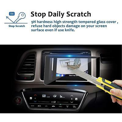 Tempered Glass Screen Protector For 2016-2018 Honda HRV EX EXL Navigation 7Inch
