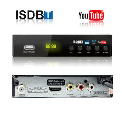 Digital ISDB-T Tuner for South America Terrestrial TV Antenna UHF VHF Receiver