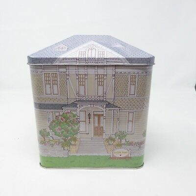 Collectible HEMMANN SUTTER HOME Napa Valley Wine Victorian House Decorative Tin