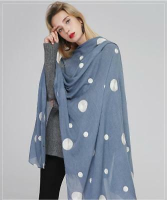 embroidered polka dot scarf cotton linen super large ethnic style ladies shawl