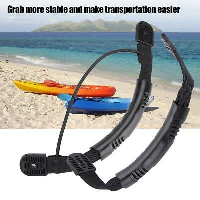1X Kayak Canoe Boat Carry Handle Side Mount Portable Bungee Cord Accessories ZH