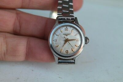 Antique Vintage Old Swiss Made Longines Hand Winding Women Wrist Watch.
