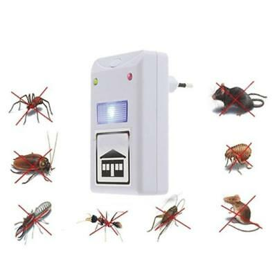 Electronic Ultrasonic Mosquito Mouse Insect Roach Ant Flea Killer Repeller New