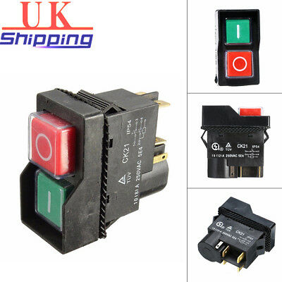 On Off Switch Fits For BELLE MINIMIX 150 Cement Concrete Mixer Electric AFK 240V