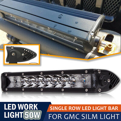 "10"" Spot Flood LED Work Light LED Off Road Driving Lights Bar for Truck Ford 4WD"