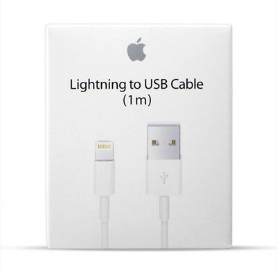 Lightning Data Charger Cable Cord Compatible Genuine Apple iPhone 5 6 S 7 8 X