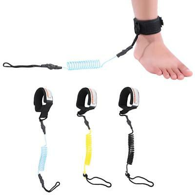 Stand Up Paddle Board 5mm Coiled Spring Leg Foot Rope Surf Leash for Surfboard