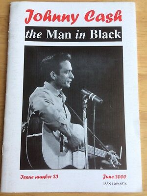JOHNNY CASH The Man In Black Fanzine By Peter Lewry ISSUE 23 June 2000