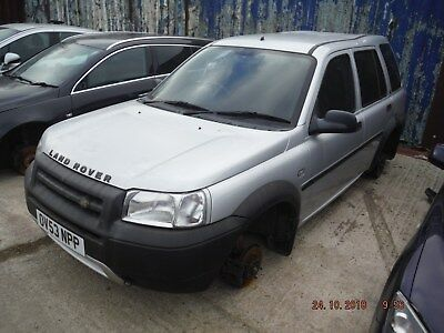 LAND ROVER FREELANDER TD4 MK1 breaking all parts for spares or repairs,WHEEL NUT