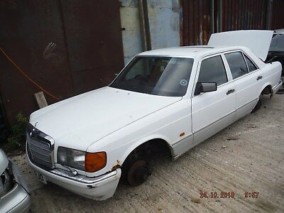 MERCEDES S-CLASS 300 SE 1986 breaking all parts for spares or repairs,WHEEL NUT
