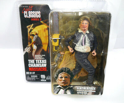 TEXAS CHAINSAW MASSACRE Leatherface Actionfigur NECA Cult Classic Series 2 (L) *