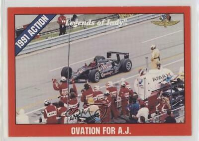 Auto Racing Cards 1992 Collect-a-card Racing #85 Michael Andretti Card Moderate Cost