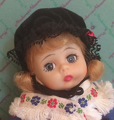 Madame Alexander Wendy Kins #763 German 8 Inch Doll Tag Dress BKNW 1971