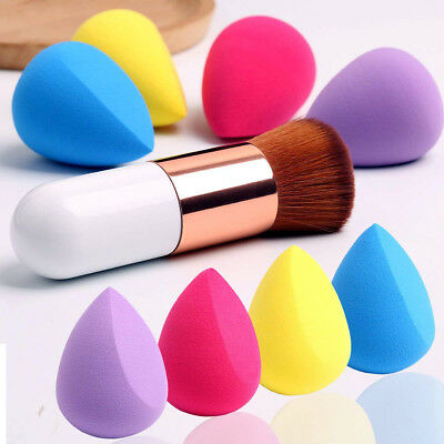 Professional Smooth Makeup Sponge Blender Flawless Foundation Beauty Puff Powder