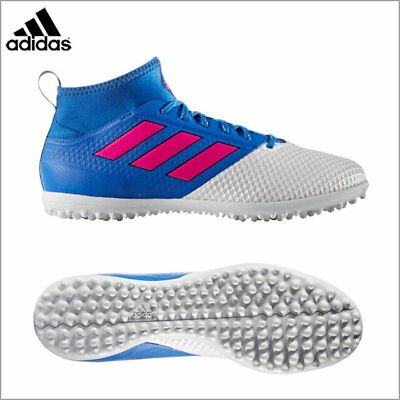 adidas Mens Ace 17.3 Primemesh Astro Turf Football Trainers Blue White Size 8-11