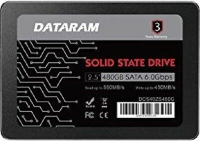 DATARAM 480GB 2.5 SSD Drive Solid State Drive Compatible with ASROCK FATAL1TY E3V5 Performance Gaming//OC