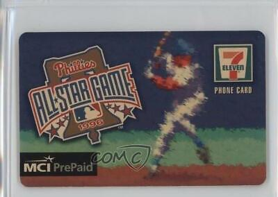 1996 MCI/7 Eleven All-Star Game Phone Cards #PHI Philadelphia Phillies Team Card