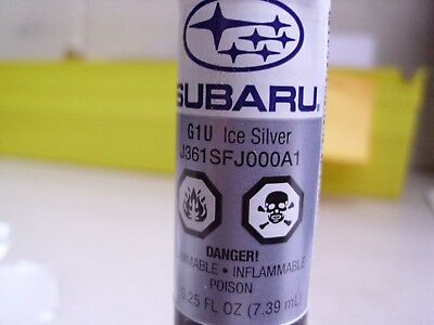 Genuine OEM Subaru Touch Up Paint Ice Silver Metallic (J361SFJ000A1)