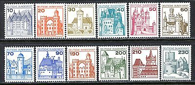 Germany Postage Stamps Scott 1231-1242, MNH Partial Set of Coil Stamps!! G20b