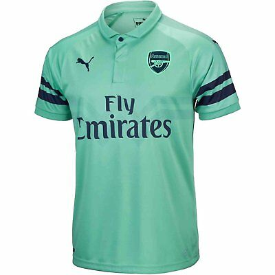 Official Puma Arsenal Gunners Adult Mens  3rd  Football shirt top 2018/2019