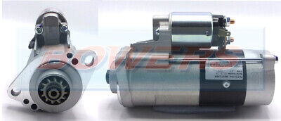 BRAND NEW STARTER MOTOR 12V 12 TOOTH DRIVE 2.0kW C/W PERKINS APPS MITSUBISHI