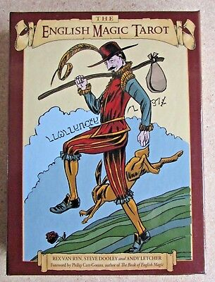 English Magic Tarot Set - Fortune Telling Cards & Companion Book - Occult Oracle
