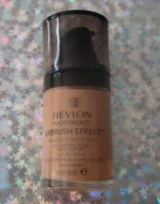 *SEALED* Revlon PhotoReady Airbrush Effect Makeup / Foundation 005 Natural Beige