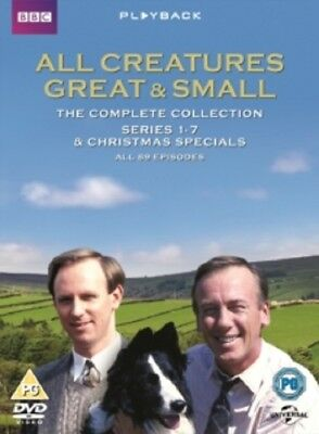 All Creatures Great and Small Series 1 2 3 4 5 6 7 + Xmas Specials New R2 DVD