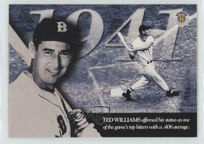 Ted Williams 3 Card Lot Of Baseball Cards Upper Deck