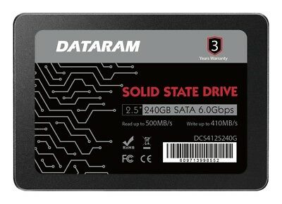 DATARAM 480GB 2.5 SSD Drive Solid State Drive Compatible with GIGABYTE GB-BSI3HA-6100-BA-BWUS