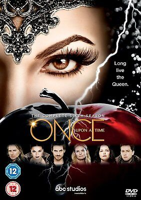 ONCE UPON A TIME The Complete Season 6 DVD NEW 2017