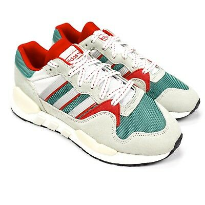NWT Adidas Never Made ZX930 EQT Boost Retro Men s Sneakers Green Red 9  AUTHENTIC 3d0e07035