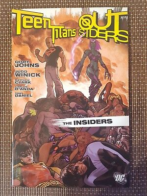Teen Titans / Outsiders The Insiders TPB