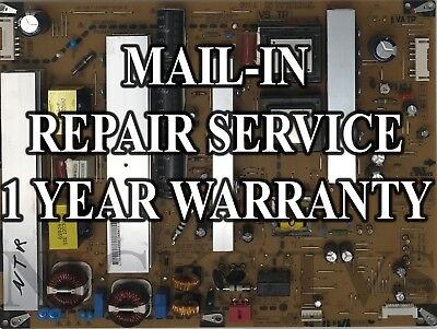 Mail-in Repair Service For LG EAY62609801 Power Supply 1 YEAR WARRANTY