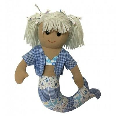 Personalised Mermaid Rag Doll 40CM