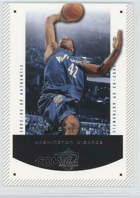 2002-03 SP Authentic  98 Jerry Stackhouse Washington Wizards Basketball Card f721bca8b