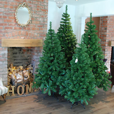 4ft, 5ft, 6ft, 7ft or 8ft Imperial Pine Christmas Tree in Green, Black or White