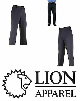New Men's Lion 0130-20 Station Wear Pants Trousers Navy 32 X 32 Unhemmed   Nwt