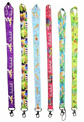 Disney's Tinkerbell Themed Lanyards with Clip - ID / Badge Holder ~ Brand NEW
