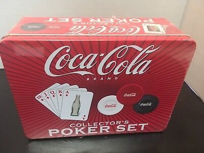 Coca-Cola Brand Collector's Poker Set