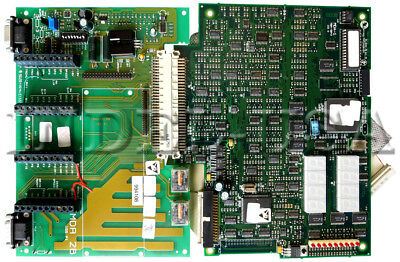 Control Techniques Mentor Ii  Main Board Mda-1 + Interface Board  Mda-2B + Cable