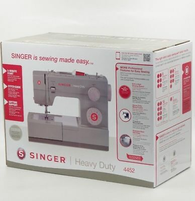 SINGER 4452 Heavy Duty Sewing Machine, 32 Built-in Stitches - BONUS Accessories